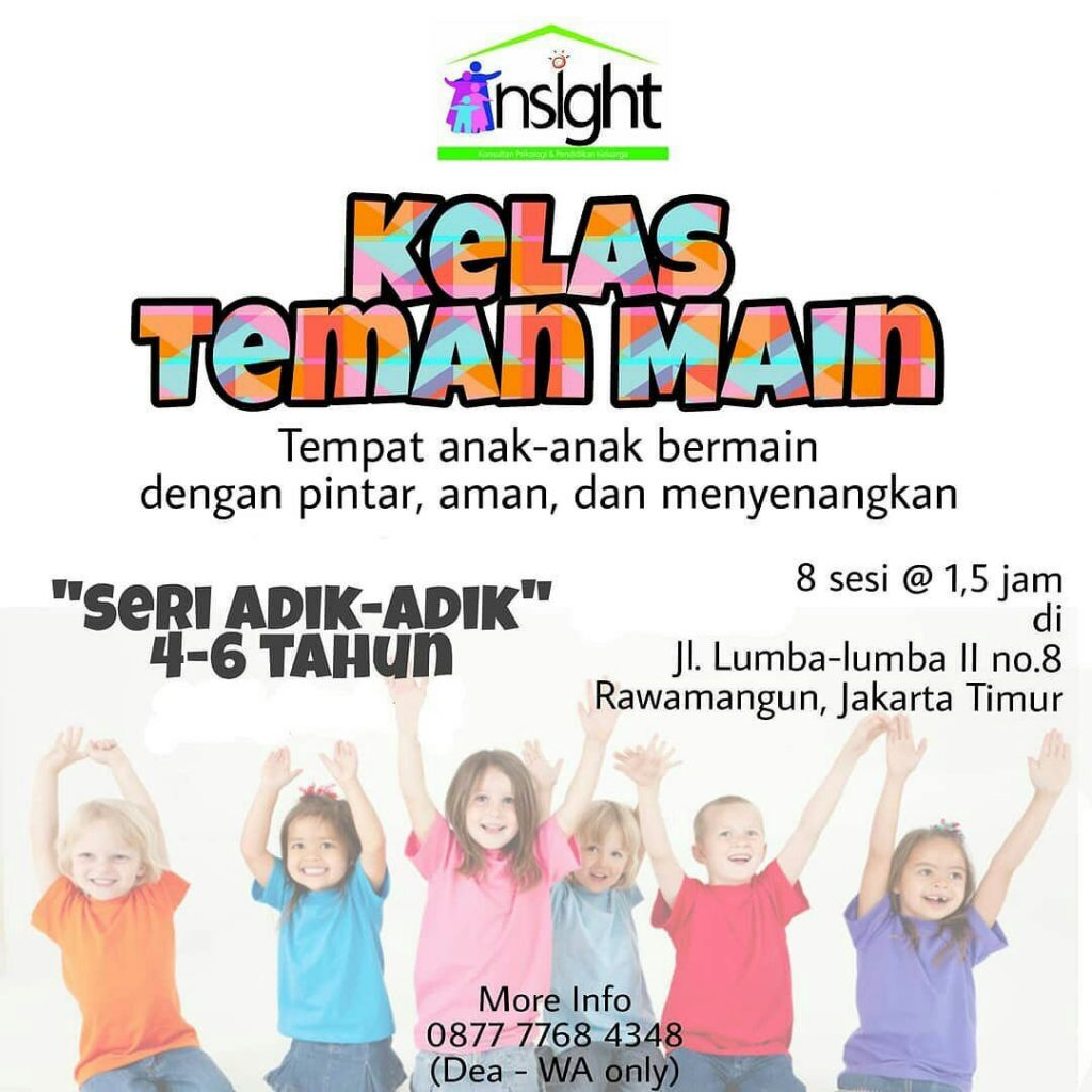 Insight Psikologi Kelas Taman Main